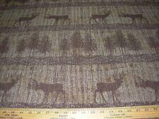 """~10 Yds~Regal~Southwest """"Hallett Peak"""" Deer~Chenille Upholstery Fabric For Less~"""