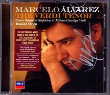 Da Alvarez signed the verdi tono CD Il Trovatore Luisa Miller AIDA Álvarez