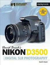 David Busch's Nikon D3500 Guide to Digital SLR Photography, Paperback by Busc...