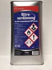 5 Liter Nitroverdünnung Nitro Verdünnung von Recolor für Autolack