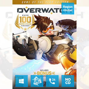 Overwatch Game of the Year Edition GOTY for PC Game Battle Key Region Free