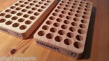 Stalwart Loading blocks, reloading trays TWO New # 8 for 45-70, 500 S & W etc.