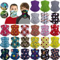 Kinder Multifunktionstuch Schlauchschal Halstuch Bandana Mundschutz Staubmaske