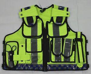 Hi Viz Tactical Load System Tac Vest Security Dog Handler Marshal HV09