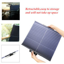 Car 160 * 46cm Retractable Sun Shade Block Visor Folding Auto Windshield Cover