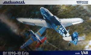 EDUARD 84174 Bf109G-10 Erla in 1:48