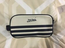 Authentic Jean Paul Gaultier Toiletry Cosmetic Pouch Bag/Travel