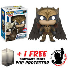 FUNKO POP DC LEGENDS TOMORROW HAWKGIRL NYCC 2016 EXCLUSIVE + FREE POP PROTECTOR