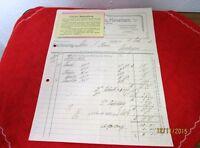 Antiquare Invoice From Estate Storm Riedlingen - Heinrich Hoss Kevelaer/S108
