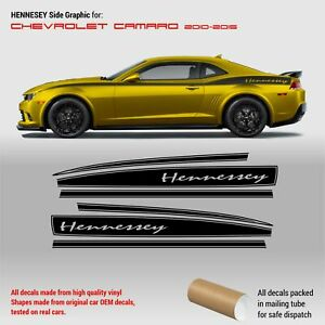 Hennessey Side Graphic for Chevrolet Camaro 2010 - 2015