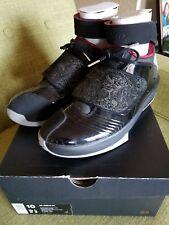 Nike Air Jordan XX Black Stealth Varsity Red 310455-002 Size 10
