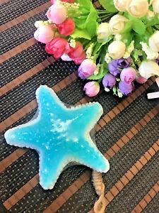 THAI Handmade Luffa aroma Starfish Thai rice milk soap moisturizing skin care