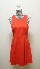 BARDOT DRESS RED TEA DRESS, Sz 12
