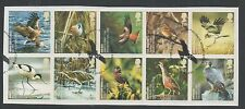 GB 2007 Action For Species Birds fine used set stamps on Piece