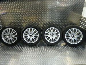 2008 RANGE ROVER SPORT ALLOY WHEELS WITH TYRES 20 INCH 275/45/20 5X120 DAMAGED
