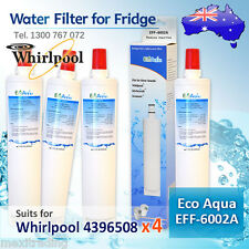 4396508 (4PACK )WHIRLPOOL FRIDGE FILTER  REPLACEMENT  ECO AQUA