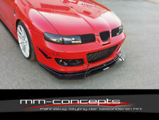 CUP Spoilerlippe TIE BARS für Seat Leon Cupra MK1 Front Schwert Lippe Ansatz V1