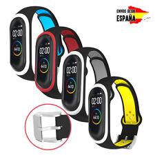 Correa de silicona flexible y ajustable deportiva para Xiaomi Mi Band 4 / 3