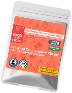 Food Supplies: Lightweight Pouched Meal, Moroccan Cous Cous with Chicken - 125g