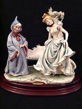 Disney Guiseppe Armani Cinderella & Fairy Godmother Figurine Sculpture LE /975