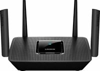 Linksys Max-Stream AC2200 Tri-Band Mesh WiFi 5 Router - Black MR8300   Newest!