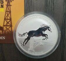 2015 Australia Stock Horse 1 Troy Ounce of .999 Silver $1 COA Ltd Ed. of 9,000