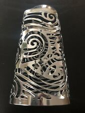 Bath & Body Works Gentle FOAMING Hand Soap Sleeve Silver SWIRLS - NWOT
