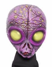 (A-CEF) Halloween 3/4 Purple UFO Alien mask HIGH Quality Latex Material