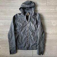 Title nine grey zip windbreaker Jacket Womens Size small