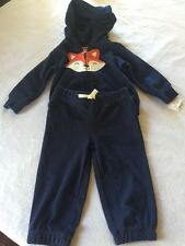 Carters Girls 2 Pc Sweater And Pt Set Fox Size 6 Months