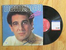 Opera Tenor PLACIDO DOMINGO signed CON AMORE 1982 Record / Album PSA / DNA