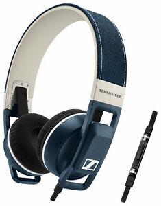 Sennheiser URBANITE for iPhone Denim Headband Headsets 506450 NEW FREE SHIPPING