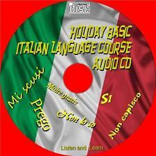 HOLIDAY Basics LINGUA ITALIANA lezioni facili 2 utilizzare ascolto + imparare CD AUDIO NUOVO