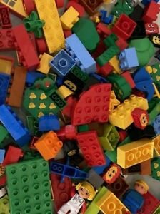 Lego DUPLO  a 1/4 Kilo kg Bundle Of Mixed Bricks BLOCKS from pictures Free Post