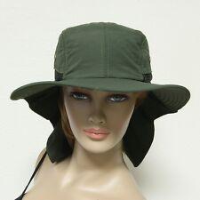 Boonie Snap Hat Brim Ear Neck Cover Sun Flap Cap Hunting Fishing Hiking Bucket