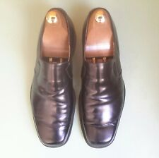 Cheaney - Jethro II - Leather Black Slip-ons - UK 10 - Loafer Shoes - Square Toe