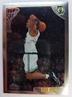 1998 98-99 Topps Chrome Paul Pierce Rookie RC #135, Boston Celtics HOF