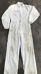 Vintage Goodyear Universal Company Coveralls Work Wear Uniform 38 Chicago USA