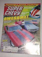 Super Chevy Magazine '98 Camaro Exhaust SLP's Ultra-Z April 1998 030417NONRH