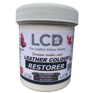 leather dye Colour Restorer for faded worn Sofa Chair Bag Repair Balm 250 gm Kit