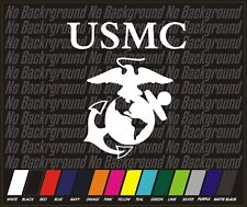 USMC Marine Corps marines semper fi earth globe anchor Sticker Decal Car Truck 4