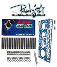 ARP Head Stud Kit OEM Head Gaskets 18MM Ford Powerstroke Diesel 6.0L 2004.5-2006