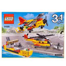 Lego Creator Cargo Heli 3 In 1 Helicopter Plane & Ship Set 31029 | Damaged Box