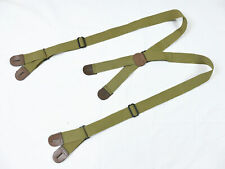 US ARMY WW2 SUSPENDERS PARATROOPER JUMP TROUSERS Hosenträger size long