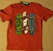 Boys Tony Hawk Skateboard Shirt Top t-Shirt Size small (4) New with Tags
