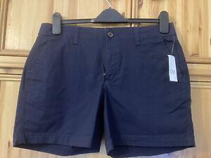 BNWT Gap Navy City Shorts, Size 8