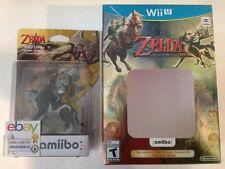 NEW Wolf Link Amiibo USA The Legend of Zelda Twilight Princess Wii U + BOX