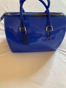 furla candy bag Blue