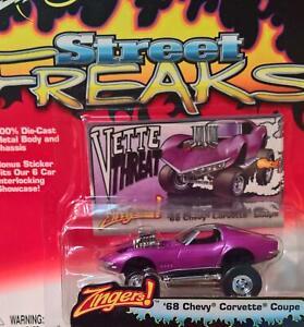 68 Chevrolet Corvette Targa purple -Johnny Lightning-1:64- Street Freaks 1 - OVP