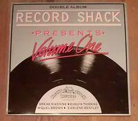 Various – Record Shack Presents Volume One 2 × Vinyl LP Comp 33rpm 1984 RSTV1